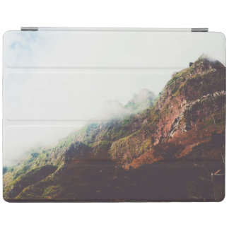 Misty Mountains, Relaxing Nature Landscape Scene iPad Cover
