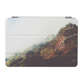 Misty Mountains, Relaxing Nature Landscape Scene iPad Mini Cover