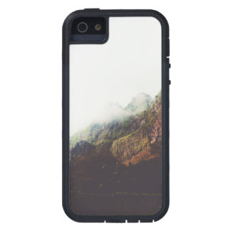 Misty Mountains, Relaxing Nature Landscape Scene iPhone 5 Cases