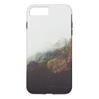 Misty Mountains, Relaxing Nature Landscape Scene iPhone 8 Plus/7 Plus Case