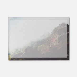 Misty Mountains, Relaxing Nature Landscape Scene Post-it® Notes