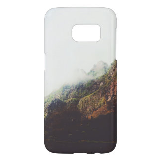 Misty Mountains, Relaxing Nature Landscape Scene Samsung Galaxy S7 Case