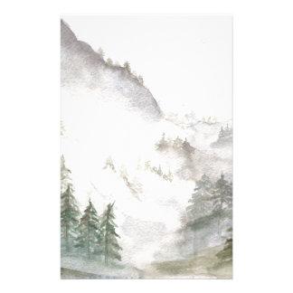 Misty Mountains Stationery