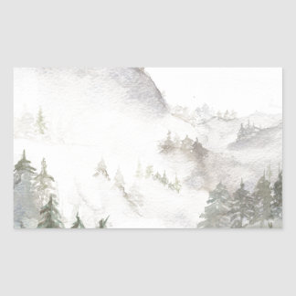 Misty Mountains Sticker