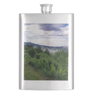 Misty Mountains The Great Smoky Mountains Flasks