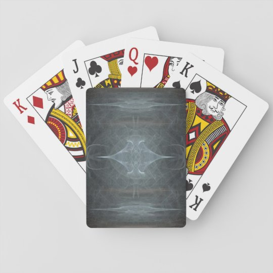 misty night poker deck