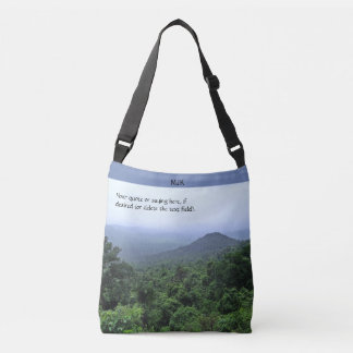 Misty Rainforest Crossbody Bag