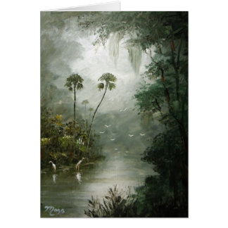 Misty River Dreams Card