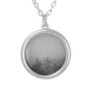 Misty Silver Plated Necklace