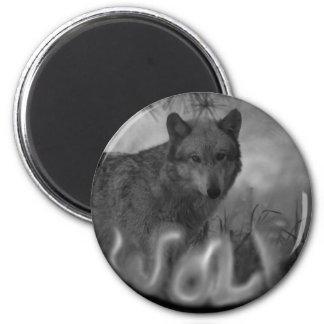 MISTY SMOKIN WOLF - VERY EERIE MAGNET