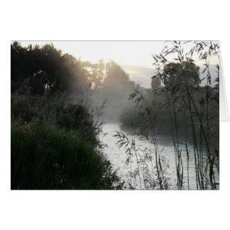 Misty Sunrise Card