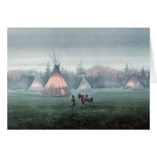 MISTY TIPI by SHARON SHARPE Card
