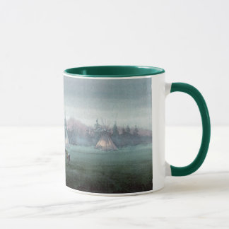 MISTY TIPI by SHARON SHARPE Mug