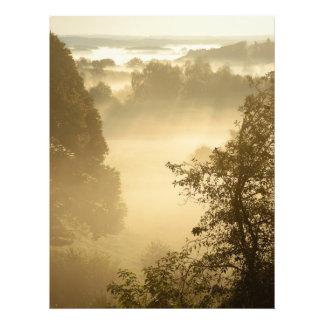 Misty valleys photo