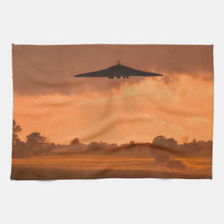 Misty Vulcan Bomber Hand Towels