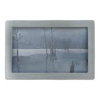 Misty water belt buckle