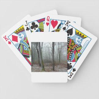 Misty Wood Bicycle Playing Cards