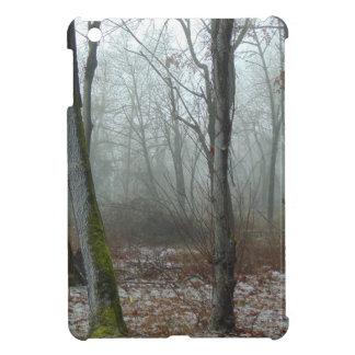 Misty Wood iPad Mini Cover