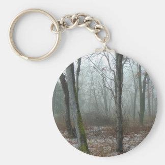 Misty Wood Keychain