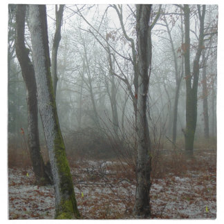 Misty Wood Napkin