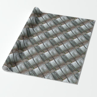 Misty Wood Wrapping Paper