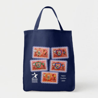 Misty's Puppy Love tote bag