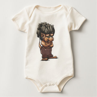 Misunderstood Troll Baby Bodysuit