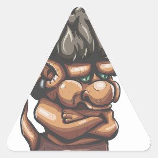 Misunderstood Troll Triangle Sticker