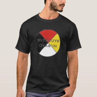 Mitakuye Oyasin Men's Dark Colours Lakota T-Shirt