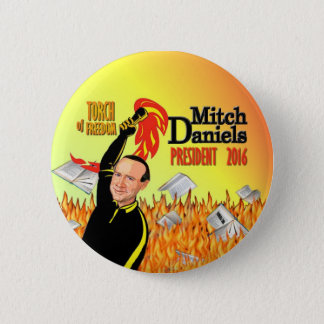 Mitch Daniels for President 2016 2 Inch Round Button