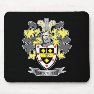 Mitchell Family Crest Coat of Arms Mouse Pad