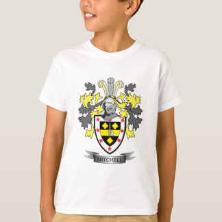 Mitchell Family Crest Coat of Arms T-Shirt