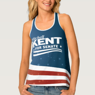 Mitchell Kent for Senate Tank Top