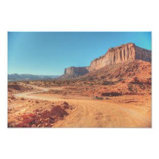 Mitchell Mesa Photo Print