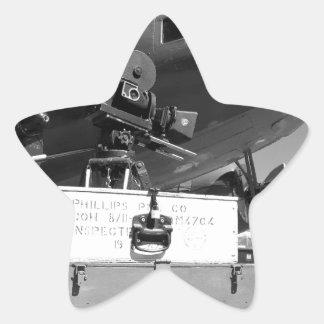 Mitchell movie camera DC-3 Star Stickers