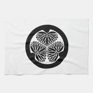 Mito mallow (19 蕊) hand towel