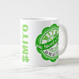 Mito We Need a Cure Large Coffee Mug