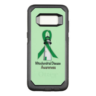 Mitochondrial Awareness Ribbon Lighthouse of Hope OtterBox Commuter Samsung Galaxy S8 Case