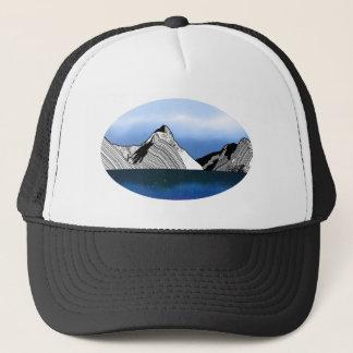 Mitre Peak Fiordland New Zealand Trucker Hat