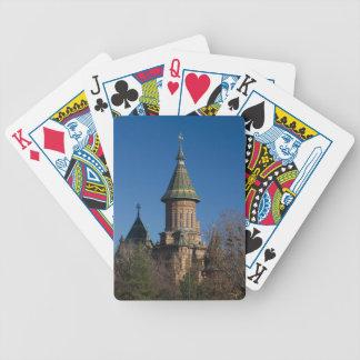 Mitropolitan Cathedral, Timisoara, Romania Bicycle Playing Cards