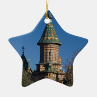 Mitropolitan Cathedral, Timisoara, Romania Ceramic Star Ornament
