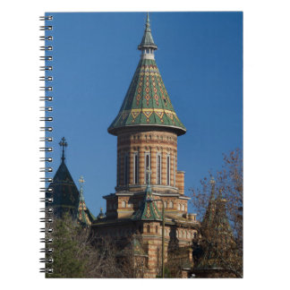 Mitropolitan Cathedral, Timisoara, Romania Notebook