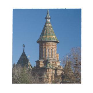 Mitropolitan Cathedral, Timisoara, Romania Notepads