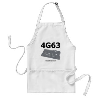 Mitsubishi 4G63 Shop Apron by BoostGear.com