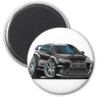 Mitsubishi Evo Black Car Magnet
