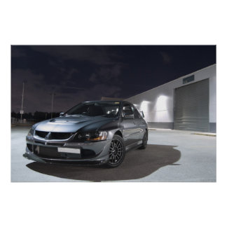Mitsubishi Evolution 8 Poster