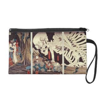 Mitsukini Defying the Skeleton Spectre, c.1845 Wristlet Purses
