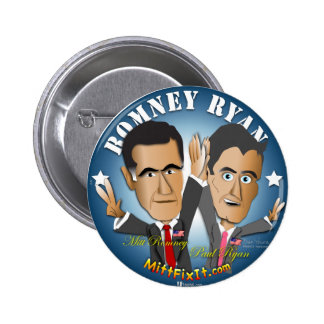 Mitt Fix It - Celebrate Success 2 Inch Round Button