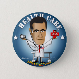 Mitt Fix It - Health Care 2 Inch Round Button