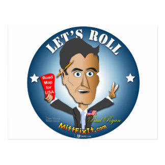 Mitt Fix It - Paul Ryan Postcard